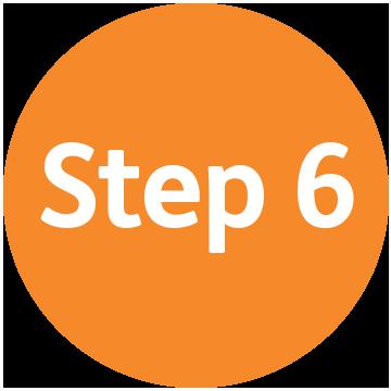 Image result for step 6 png
